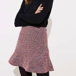 Loft Flippy Purple Skirt